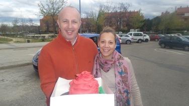 Los ganadores de la tarta de Cosas de Katy!